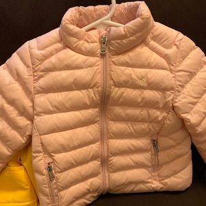 Infant polo coat